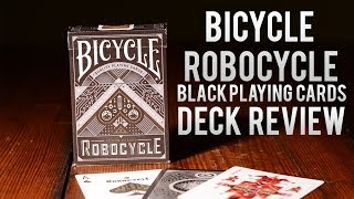 Deck Review - Bicycle Robocycle Playing Cards in Black
