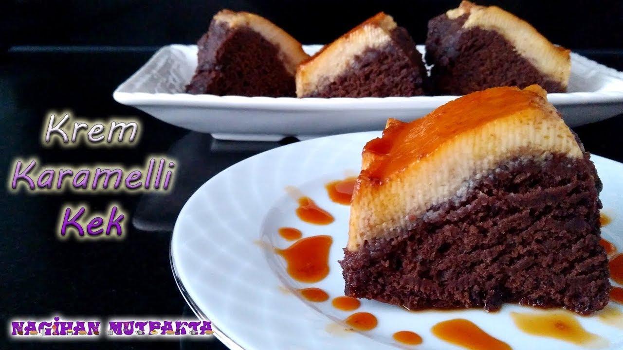 Çikolatalı Karamelli Kek Tarifi
