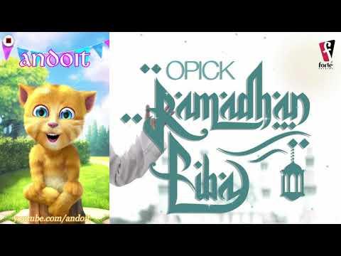 Opick - Ramadhan Tiba【VERSI TALKING GINGER】HD 1080p