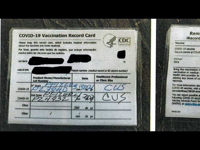 San Joaquin County bar owner arrested for selling fake vaccination cards