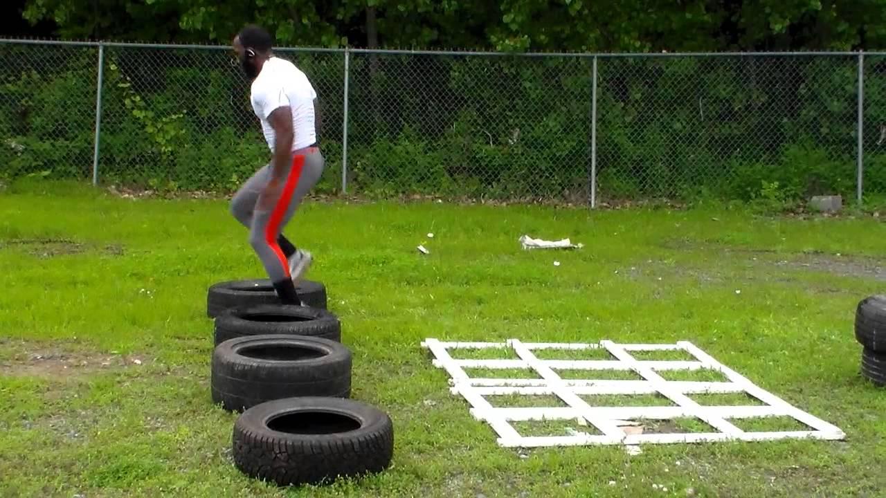 Excellent Plyometrics Leg Agility Training Spare Tires