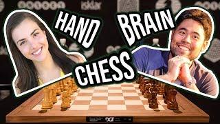Alexandra Botez & GM Hikaru Nakamura Hand and Brain Chess