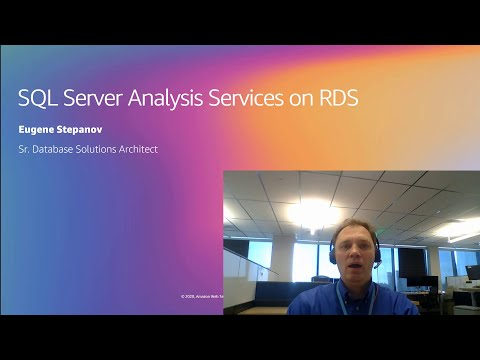 Amazon RDS support for SQL Server Analysis Services