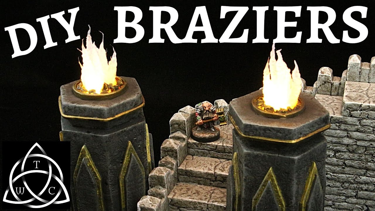 Craft a Brazier for Tabletop Gaming