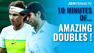 10 Minutes Of Incredible Doubles Tennis 🤯