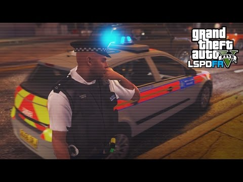 GTA 5 LSPDFR - BACK ON PATROL - The British way #93