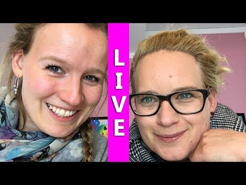 Livestream (beendet) DIY Inspiration LIVE Snacktest Q&A Entweder Oder