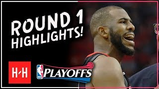 Chris PAUL Full ROUND 1 Highlights vs Minnesota Timberwolves | All GAMES - 2018 Playoffs