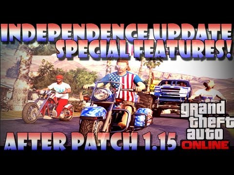 "GTA 5 Online ""Independence Day Hidden Features"" Patch 1.15 ""Fireworks & Roller-coasters!"" 1.15"
