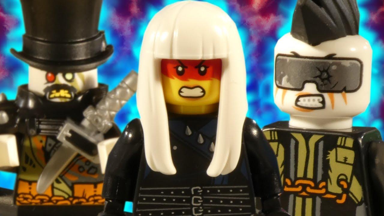 LEGO NINJAGO SONS OF GARMADON PART 6 - TRAILER 2 - SEASON FINALE - ONI INVASION