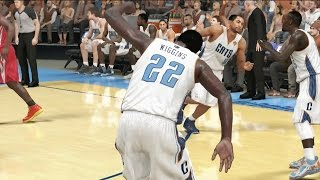 Andrew Wiggins Playoffs NBA Finals Game 4 vs. Rockets - NBA 2K14 MyCareer Andrew Wiggins