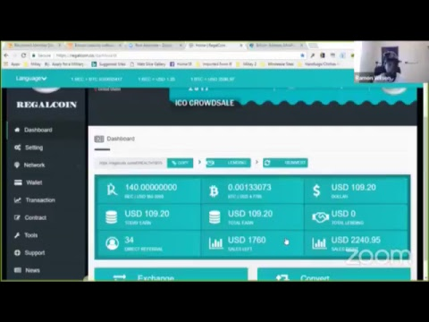 How To Lend RegalCoin Tokens LIVE