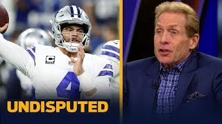 Skip Bayless reacts to the Cowboys' Week 15 shutout loss to the Colts | NFL | UNDISPUTED