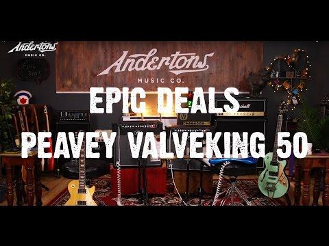 Epic Deal - Peavey Valveking 50