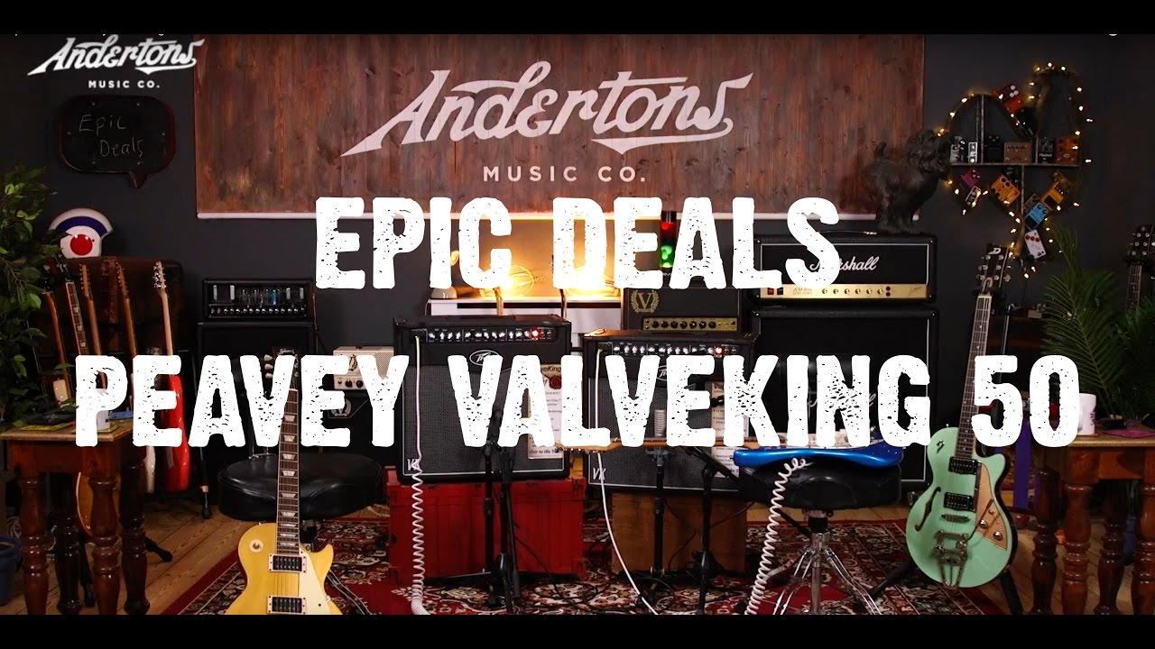 Peavey Valveking   did they always do this stuff?