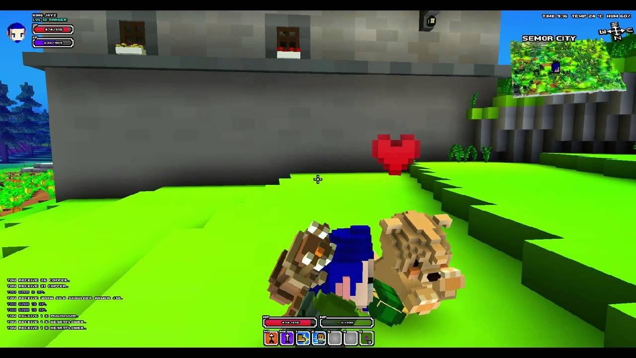 how to tame pets in cube world