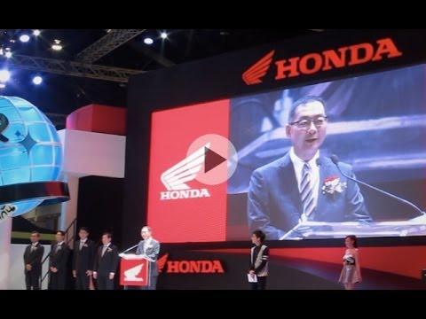 AP Honda Motorshow 2014 Press Conference