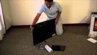 Unboxing emerson 32 inch tv blackfriday 2014 review