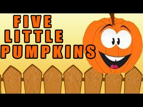 Halloween Song ♫ Halloween Songs For Children ♫ Kids Halloween Song ♫ 5 Little Pumpkins ♫ Kids Songs