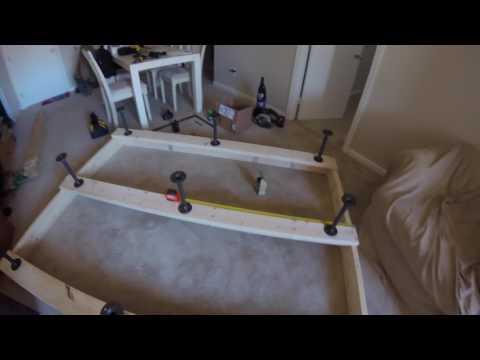 Simple Bed Frame DIY Tutorial