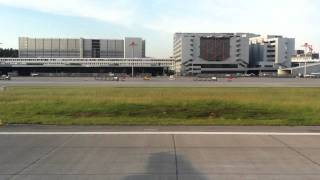 Morning take off from Zurich in an A321