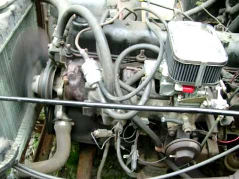 85 jeep cj7 weber smooth idle tuned - YouTube