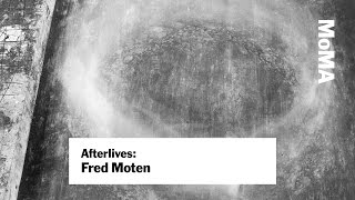 "Fred Moten: ""Blackness and Nonperformance"" 