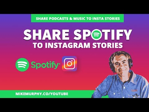 Share Podcasts on Spotify To Instagram Stories Mp3