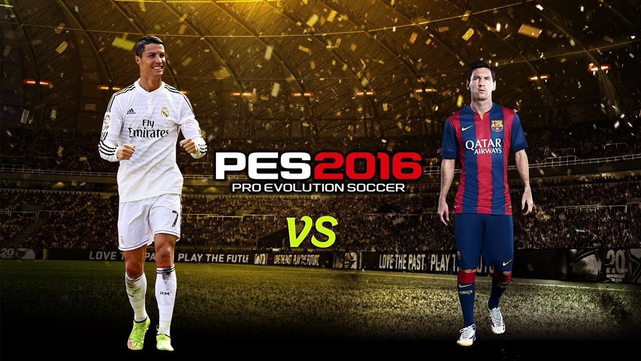 PES 2016 Ronaldo Vs Messi