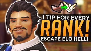 1 Tip to Escape EVERY Rank in Overwatch