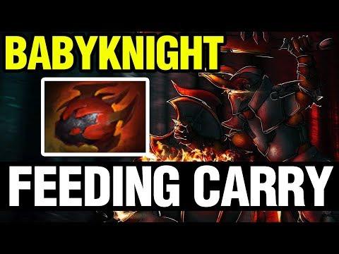 FEEDING CARRY - BabyKnight Play Chaos Knight - Dota 2 thumbnail