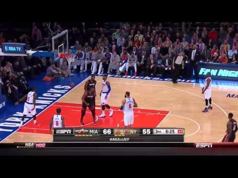 Dwyane Wade 22 points vs New York Knicks full highlights 2014/02/01 HD