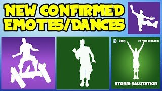 *NEW* Fortnite: SEASON 4 LEAKED/CONFIRMED EMOTES OR DANCES! (In Game Showcase) *New Season 4 Skins*