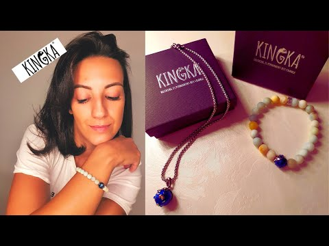 KINGKA JEWELRY ❤️  Unboxing   Try On