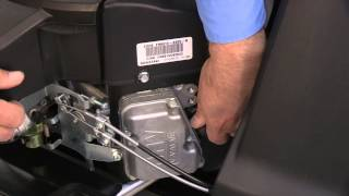 how to change the air filter on rzt zero turn riding mowers