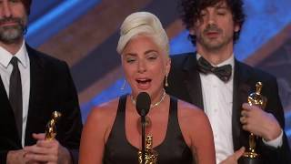 """Shallow"" from ""A Star Is Born"" wins Best Original Song"