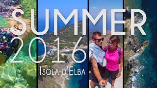 SUMMER 2016 - Isola d'Elba vista dal Drone - DJI Phantom 3