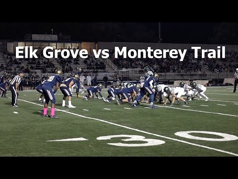 Elk Grove vs Monterey Trail V FB 2016