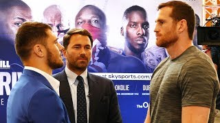 TALL ORDER Allen vs Price & all the O2 UNDERCARD FACEOFFS