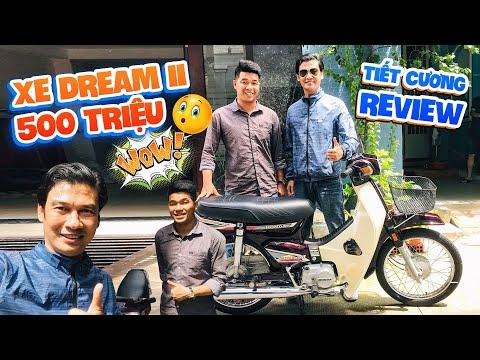 """Nghệ Sĩ Tiết Cương review xe """"Dream II"""" mắc nhất Việt Nam trị giá 500 triệu"""