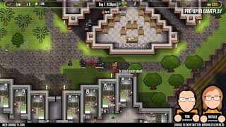 Escape Mode DLC Pre-Alpha Gameplay 2: Prison Architect Console Edition