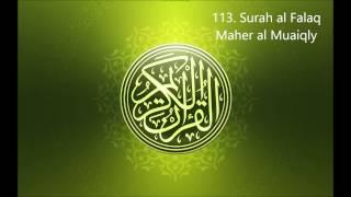 113. Surah al Falaq  Maher al Muaiqly Mp3 Yukle Endir indir Download - MP3MAHNI.AZ