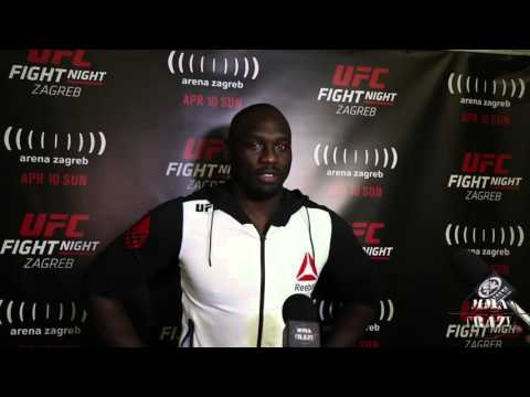Jared Cannonier UFC Fight Night Zagreb Post Fight Media Scrum