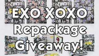 EXO - Vol. 1 XOXO 'Growl' Repackage Giveaway!