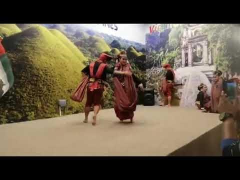 Beautiful dance performance @ global village # Dubai