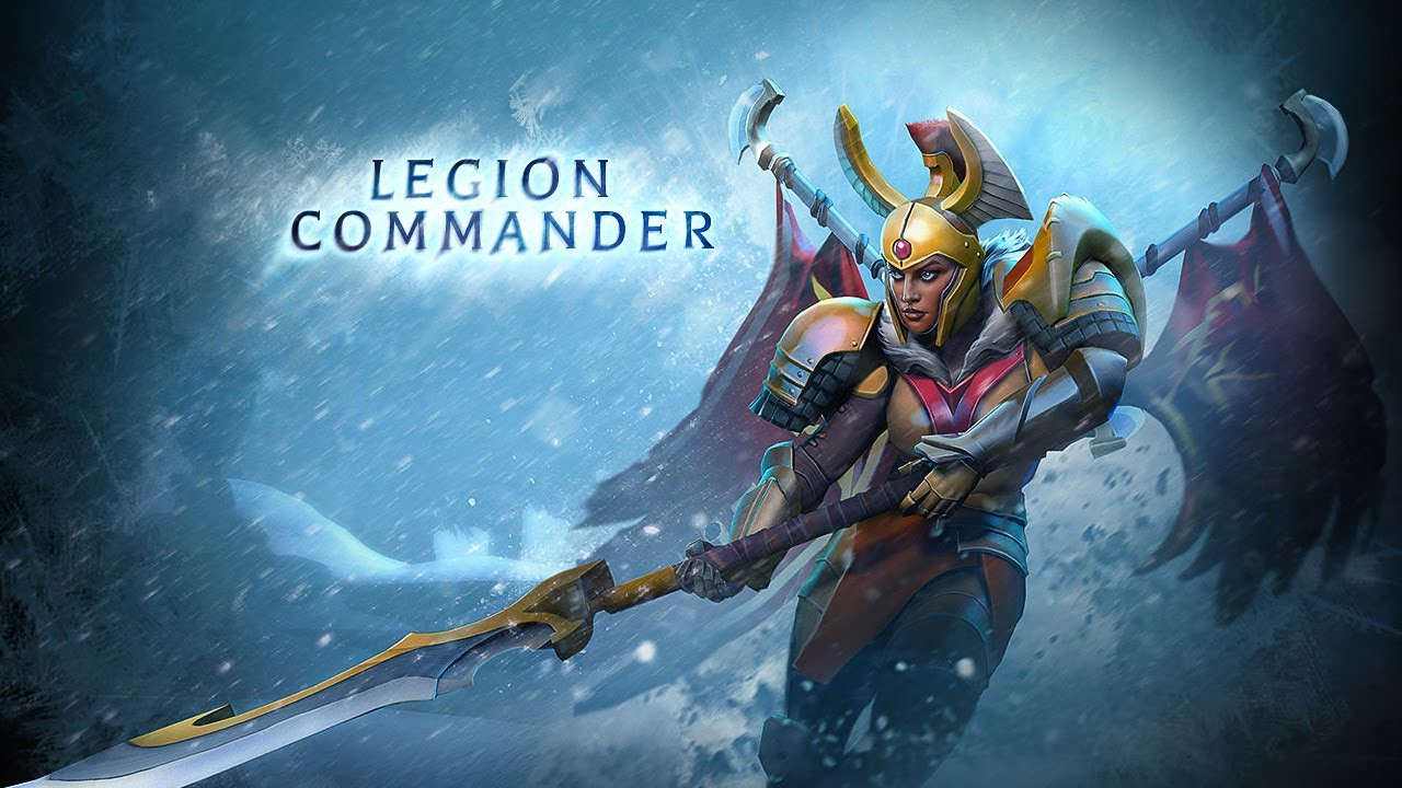 How to Play Legion Commander in Dota 2 - YouTube