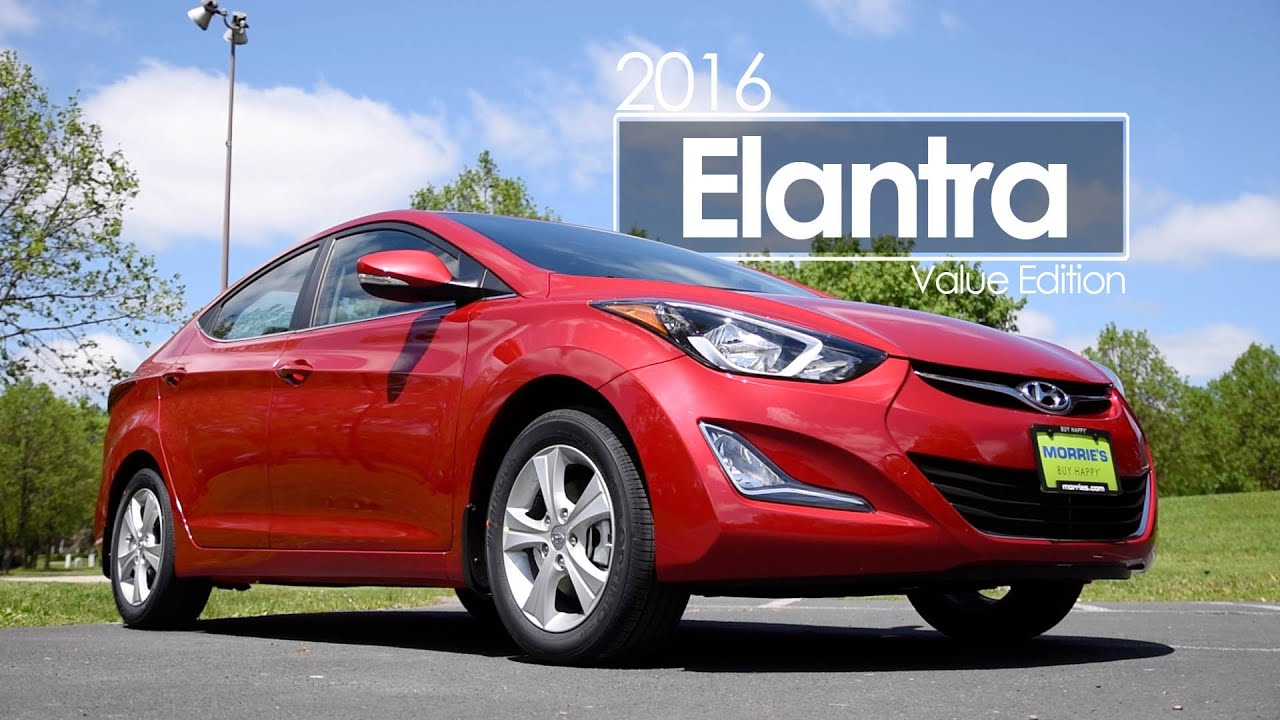 2016 hyundai elantra value edition review test drive youtube. Black Bedroom Furniture Sets. Home Design Ideas