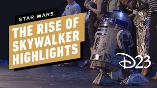 Star Wars: The Rise of Skywalker D23 Panel Highlights