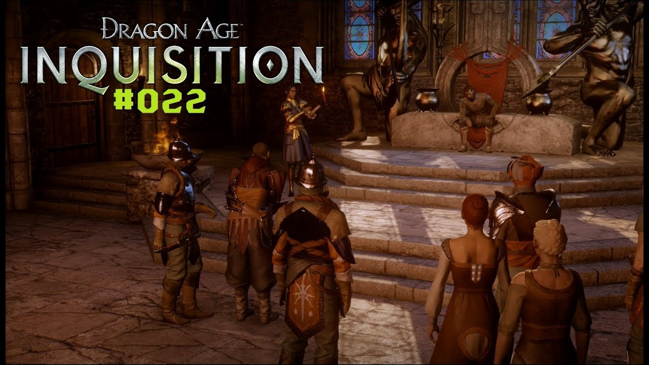 Dragon Age Inquisition Folge 22 Das Urteil über Alexius Youtube