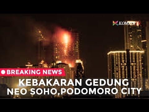 Breaking News - Kebakaran di Gedung SOHO Podomoro City, Jakarta Barat